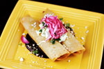 Maggie's Blue Rose Duck Taquitos